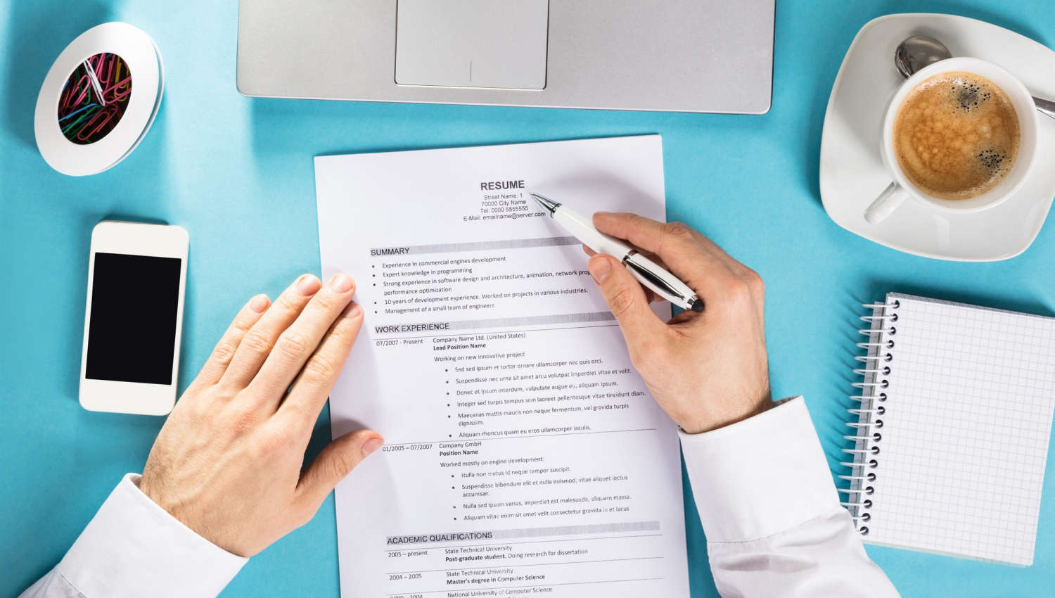 The Most Obvious Mistakes Done When Preparing CV
