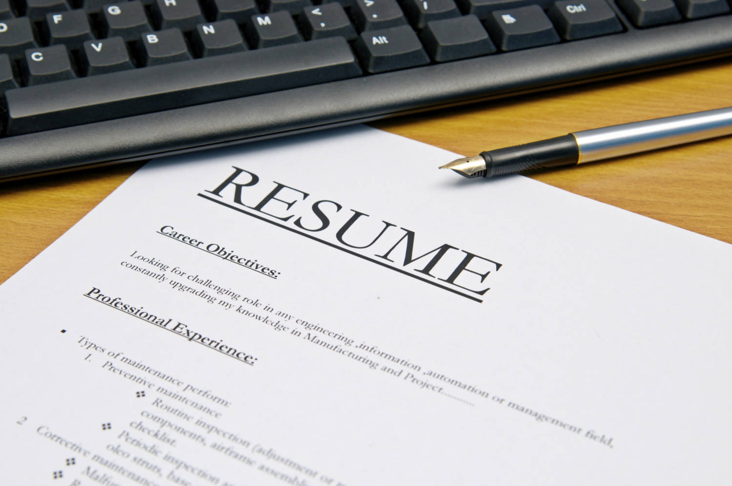 Timeless Tips On Preparing A Resume